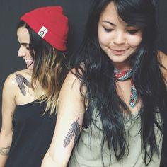 best friends getting matching gemini tattoos! #thewildunknown #gemini #zodiactattoo (image via instagram spicyasiannoodle)