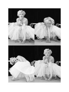 Marilyn Monroe Ballerina Series - Milton H. Greene