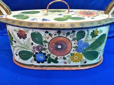 "Antique Scandinavian ""Tine Svepask"" Bentwood Dowery Box, Original from collectorsdelights on Ruby Lane"
