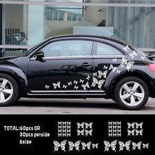 X Butterfly Flower Vinyl Car GraphicsStickersDecals Graphics - Auto decals and graphics