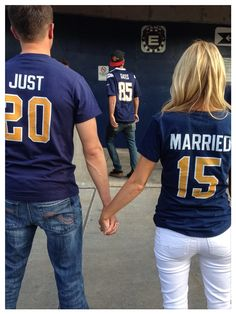 Just married game shirts justmarried http://gelinshop.com/ppost/351632683395381079/