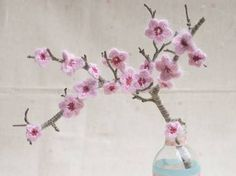 crochet sakura flower pattern - Google Search