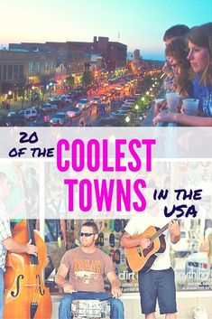 Did your town make the cut? You've got a new bucket list to fill! Travel to all of these cool US places!