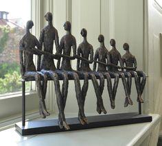 Family Bench Sculpture, The Libra Company £79.00