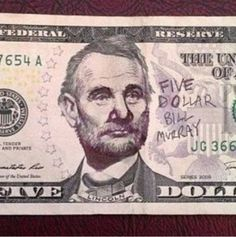 Five Dollar Bill Murray
