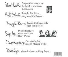 Pureblood all the way.