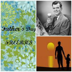 Father's Day FREEBIES: Father's Day June 16 #fathersday
