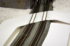 How to make concrete roads out of foamboard | Model Railroad Hobbyist magazine