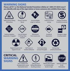 TeenPMDD - Warning Signs of Suicide