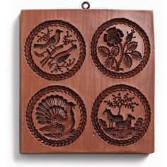 Round cookie molds. $34.00 at House on the Hill website.