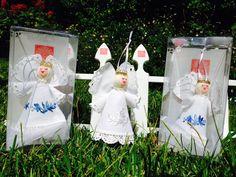 Baby Angel Matyó original Hungarian/European handmade by MHFolk, $28.00
