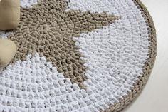 Crochet Rug Star Inspiration ❥ 4U // hf