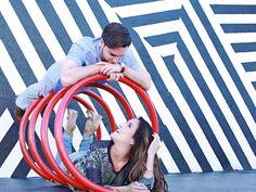 Engagement Shoot in Wynwood Art District.  Lynn Studios | Miami