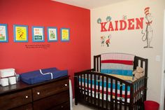 Dr. Seuss Baby Boy Nursery | Project Nursery