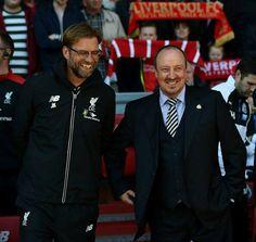 ♠ The History of Liverpool FC Manager in pictures - Jurgen Kloop & Rafa Benitez #LFC #Legend #History