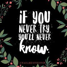 Why not #giveitatry #positivequotes #positivewords #positivemindset #positivevibration