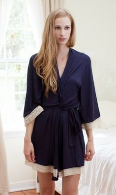 Serendipity Robe ~ Navy