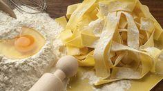 Pasta wie in Italien? Da müssen Sie wohl das Nudelholz schwingen und die Nudeln selber machen!