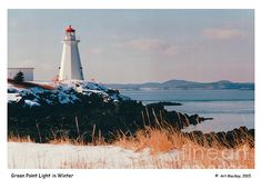 Green Point Lighthouse in Winter