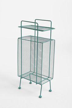 Mini Storage Rack • Turquoise – $39