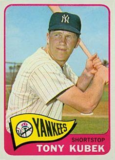 1965 Topps Tony Kubek New York Yankees Baseball Card for sale online Baseball Park, Baseball Boys, Baseball Players, Mlb Players, Baseball Photos, Soccer Jerseys, Football, Damn Yankees, New York Yankees