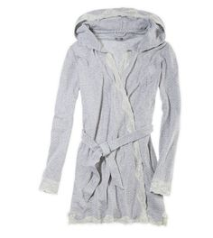 7d0032820849 See more. Aerie Hooded Softest Sleep Robe. Need a cuter robe for the dorms   ) Lingerie. American Eagle Outfitters