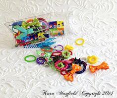 Stitch Markers Finders Keepers by KnitnKaboodleDesigns on Etsy  #knit #knitting #stitch #ringmarker #stitchmarker