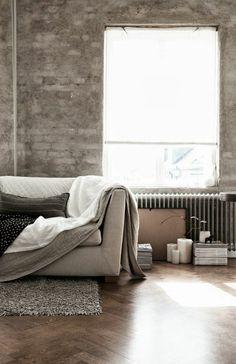 GroB Wohnzimmerideen Und Küchendesigns   Industrielle Einrichtungsideen