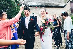 Documentary wedding photography in Dorset, across the UK and internationally. Wedding Story, Our Wedding Day, Courtyard Wedding, Documentary Wedding Photography, Bridesmaid Dresses, Wedding Dresses, Kingston, Confetti, Documentaries