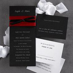 1000 Images About Red Burgundy Wedding Invitations On Pinterest Invitati
