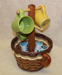 Coffee Mug Basket