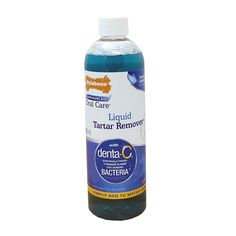 Keep your four legged friends in good oral health with the Nylabone Advanced Oral Care Liquid Tartar Remover. Featuring your choice of 16 or 32 ounces of specially formulated pet mouthwash thats heal