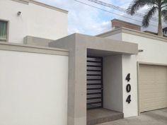 Fachada de Casa Mexicana #casasmodernasmexicanas