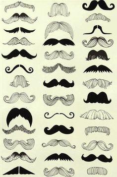 toutes sorte de moustaches...