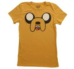 Women's Adventure Time Jake Face!