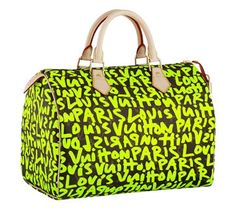 d48b060bfa3 Stephen Sprouse for Louis Vuitton -- HA! I wish this was in my closet