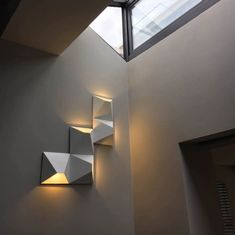 Zen Aztec - Modern LED Wall lamp  Price: 2196.00 & FREE Shipping  #ihomedesign Led Wall Lamp, Wall Sconce Lighting, Wall Sconces, Wall Mounted Light, Magic Box, My Home Design, Zen, Wall Lights, Bulb