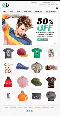 Custom eCommerce design and web development using Magento, oscommerce, WordPress and Php by Auckland based company TechIdea, New Zealand - call now Responsive Web, Ecommerce, Fashion Website Design, Mobile Web Design, User Interface Design, Interactive Design, Web Design Inspiration, Guys And Girls, Website Template