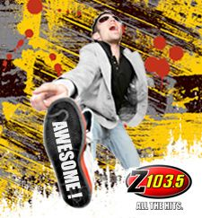 Z103.5 plays the AWESOME beats and the BEST music! #beatthatbeatup