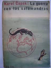 Google-funn av biletet http://mlc-s2-p.mlstatic.com/la-guerra-con-las-salamandras-karel-capek-3396-MLC4839102127_082013-F.jpg  Eg inrømme det, eg foretrekk den på norsk eller engelsk... ikkje spansk... men Salamander krigen er FANTASTISK!!!