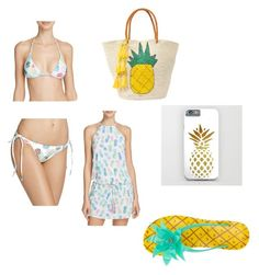 """""""#pineapple"""" by crossfit04 on Polyvore featuring PilyQ, Sensi Studio and Kate Spade"""