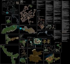NOT MINE!!! More detailed Wizardry 8 world map. Don't remember where it's from!