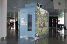 Snooze in a Pod -- These capsules convert from cozy chairs to lie-flat beds, comfortably and privately. Abu Dhabi, Delhi, Munich, Beijing, Tokyo, and Moscow are among the international airports to offer sleep pods. Stateside, Atlanta, Philadelphia, and Dallas are among those that offer mini-suites by the hour at locations past security.