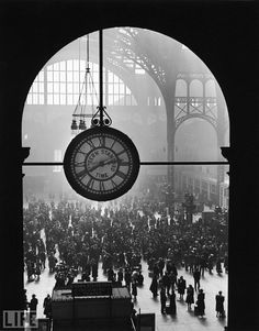 Penn Station - what a great loss for New York...