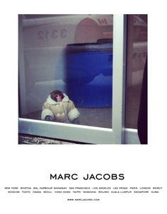 IKEA Monkey. Adopted by MARC JACOBS