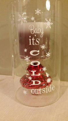 Hurricane Candle fillable vase glass baby by CreativeCraftRooms