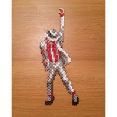 Michael Jackson perler beads by coope1999