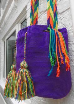 Authentic Wayuu Mochila Bag  Colombia by ChUsiqa on Etsy