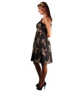 $98 MM Couture One Shoulder Winter Floral Dress SIZES: SFrom MM Couture $98