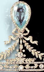 Hessen Russian Aquamarine tiara